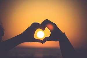 Kadıköyde Güneş Batarken