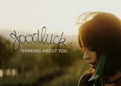 GoodLuck I've Been Thinking About You