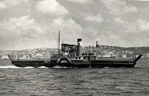 Tuğşah Bilge – Buharlı Gemi.